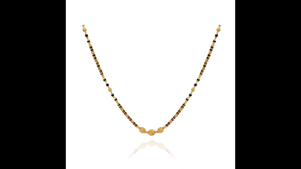 Nallapusalu Chain Models latest jewelry designs - Jewellery Designs ...