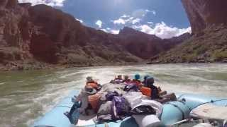 Grand Canyon Whitewater Rafting Trip 2015