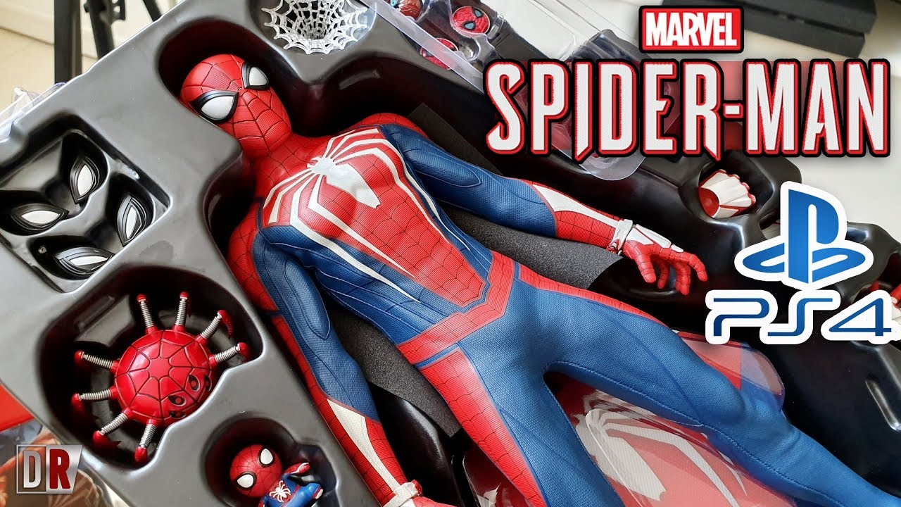 Hot Toys SPIDER-MAN PS4 Review BR / DiegoHDM