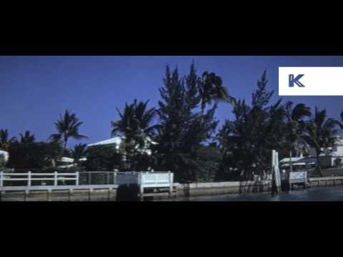 1960s Florida, Blue Grass Holiday Resort, 16mm, Colour Home Movies
