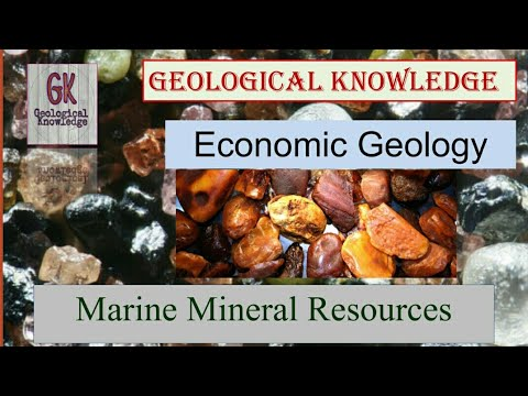 Marine Mineral Resources. Economic Geology. Polymetallic Nodules,SMS Deposits,Gas Hydrates.#GSImains