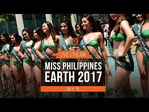 LIVE: Miss Philippines Earth 2017