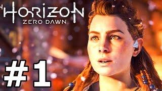 HORIZON ZERO DAWN Gameplay Walkthrough Part 1 PS4 Pro Livestream
