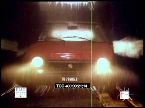 Spot - Fiat - Ritmo Super - allestimento interno