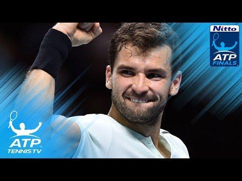 Goffin stuns Federer; Dimitrov books final place | Nitto ATP Finals 2017 Semi-Final Highlights