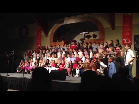 Santa Clarita Christian School Christmas concert, Dec 17, 2013