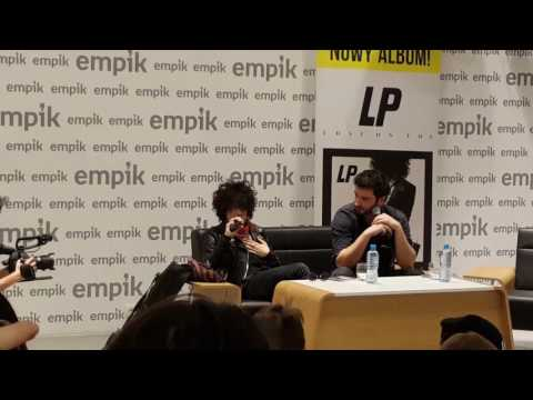 LP - Interview + short Other People //Warsaw EMPIK 29.01.17