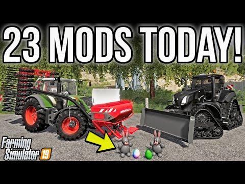 new-mods-fs19!-more-mods-than-i-can-handle!-(23-mods)-|-farming-simulator-19