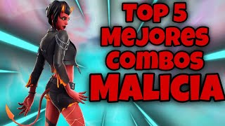 BEST SKIN MALICIA COMBINATIONS FORTNITE BATTLE ROYALE