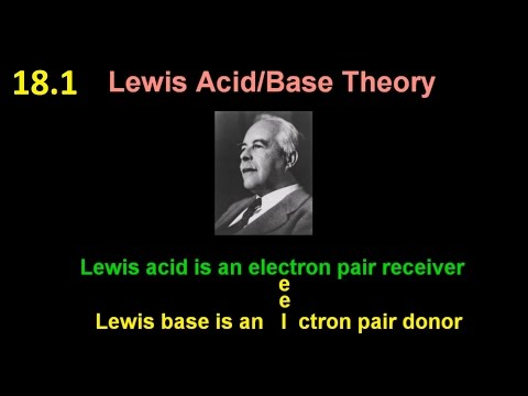 18.1 What are Lewis Acids and Bases? [HL IB Chemistry]