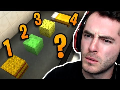 Minecraft: WHICH IS THE ODD ONE OUT?