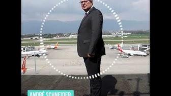 André Schneider, directeur de Genève Aéroport