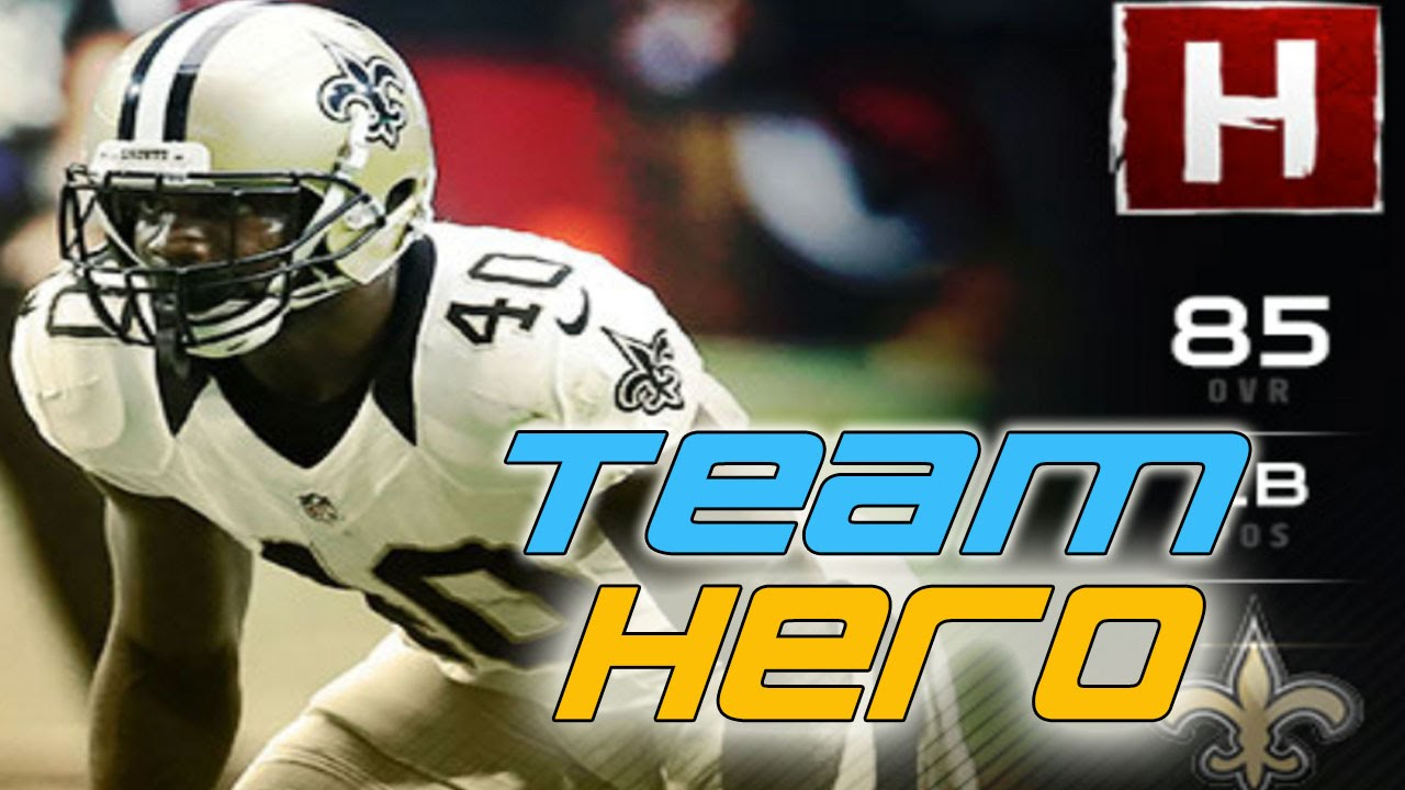 MUT 17 Team Hero Delvin Breaux