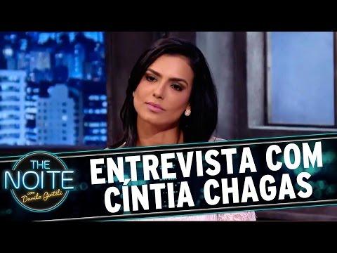 The Noite 251115 - Entrevista ou  com Cíntia Chagas