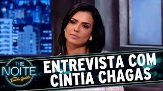 The Noite (25/11/15) - Entrevista (ou aula) com Cíntia Chagas