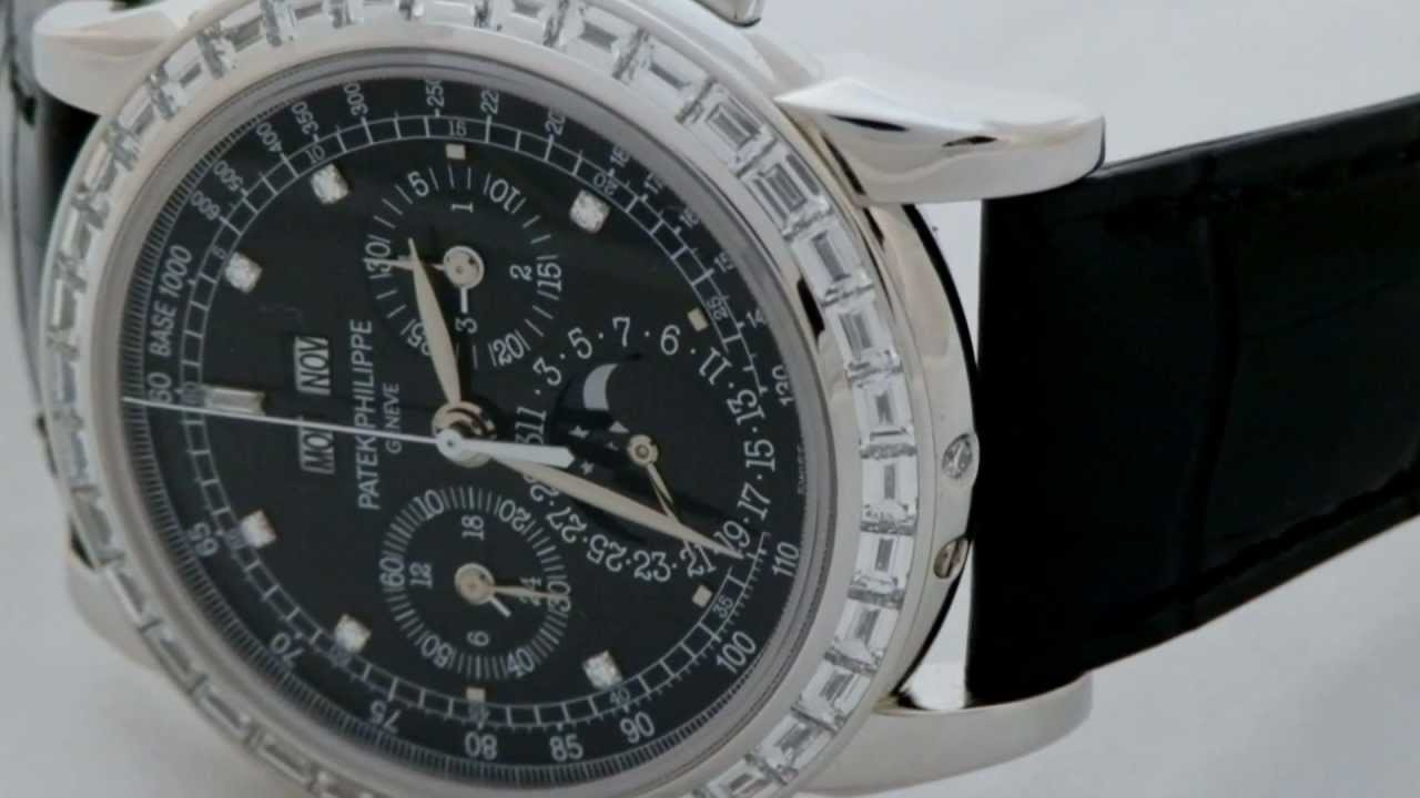 898c39a81ae Patek Philippe Complicated Chronograph Perpetual Calendar Mens Watch 5971P -001
