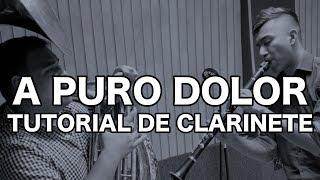 Son By Four/ A Puro Dolor / Tutorial de clarinete