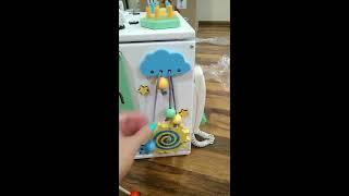 Огляд всіх іграшок на бизиборде (бизикубе KV24021)