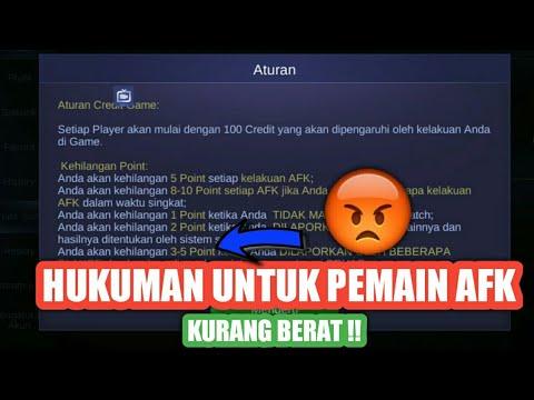 BOCAH AFK MAKIN BANYAK !! HUKUMAN KURANG BERAT ? - MOBILE LEGEND INDONESIA