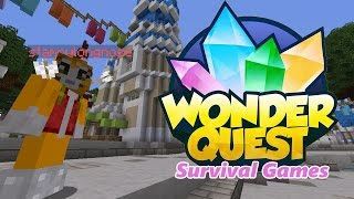 Minecraft - Wonder Quest Survival Games with Stampy Cat and friends