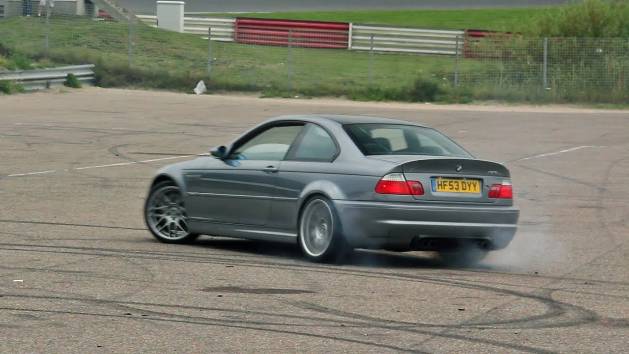 4x bmw e46 m3 csl burnout sounds youtube. Black Bedroom Furniture Sets. Home Design Ideas