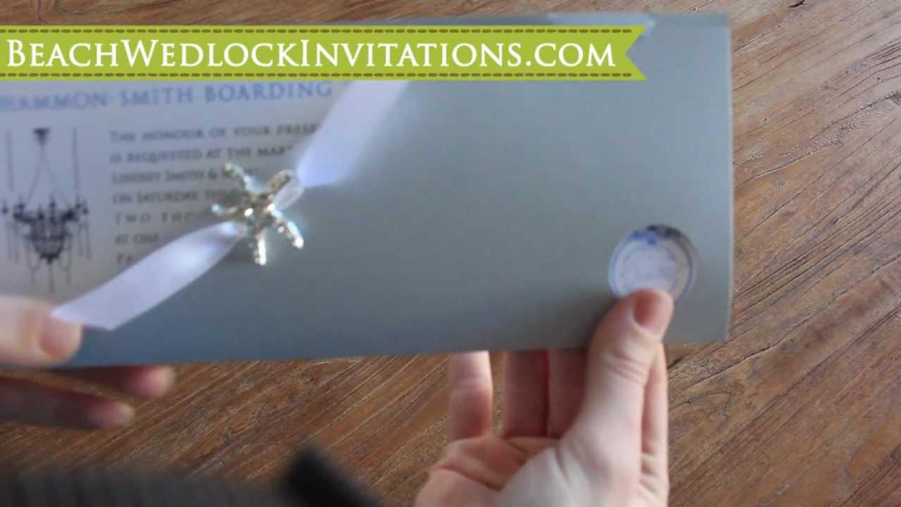 How to diy boarding pass wedding invitations how to create boarding how to diy boarding pass wedding invitations how to create boarding pass invitations tutorial youtube stopboris Image collections