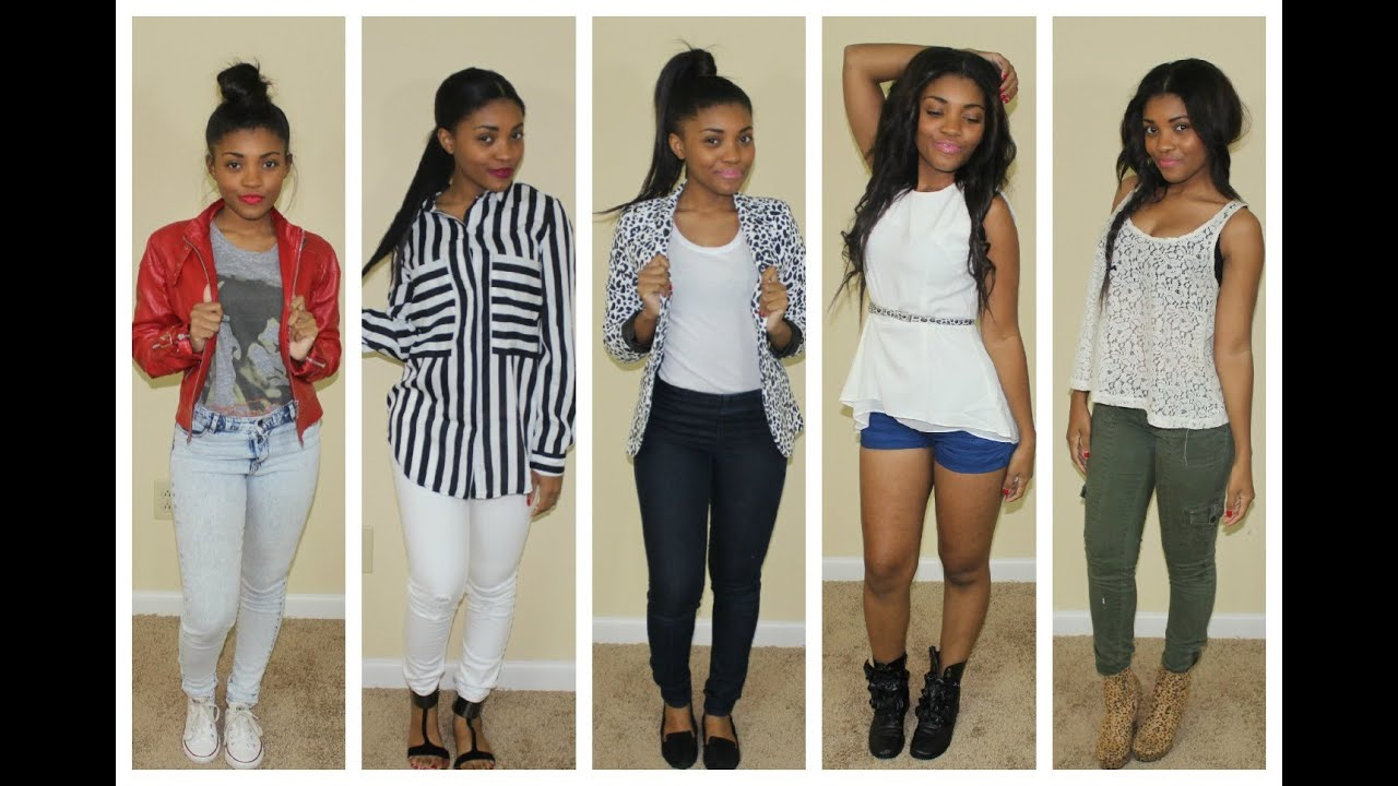Lookbook Back To School Outfits 2013 Youtube