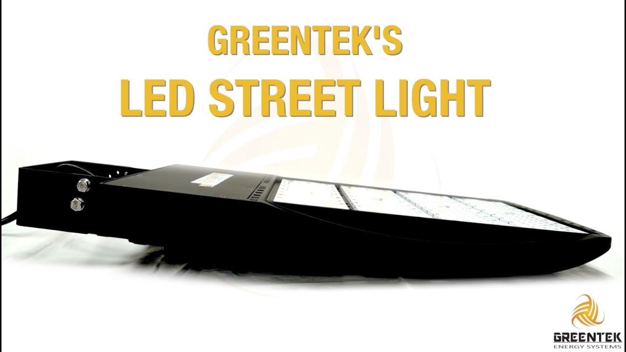 led street light 240w 300w all mounts greentek energy systems