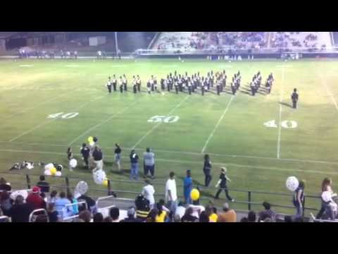 Timpson HS Band 9-17-2010