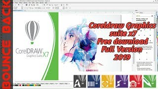 Gambar cover Install Corel Draw Graphics Suite X7 With Keygen Crack Full Version 2019   Bounce Back