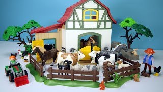 Playmobil Farm and Safari Wild Animals Fun Play Toys For Kids