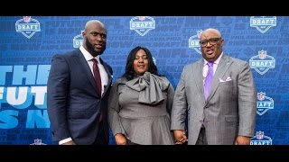 NFL Draft 2017: New Jaguars RB Leonard Fournette meets the media