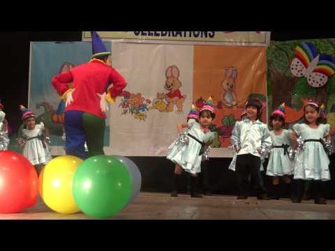 Dekho dekho kya woh ped hai -Sahasra dance at Ravindra Bharathi - School day function