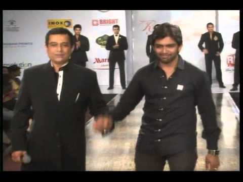 Sharad Patel On The Ramp Walk at Rajasthan Fashion Week
