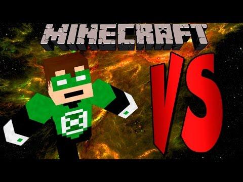 GREEN LANTERN | SUPERHEROES DESAFIO | Minecraft