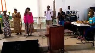 UMEINULIWA JUU YESU, HOSSANA JUU MBINGUNI - KKKT MTONI MTONGANI MBAGALA P&W TEAM