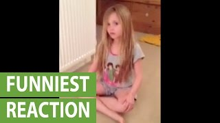 Little girl reacts to Zayn Malik leaving One Direction