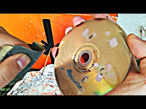 Cleaning DVD  Disc With Sandpaper,  Do It Yourself