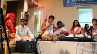 Download Hindi Video Songs - Mahalaya Chandi path by Bidhan Banerjee at Washington Kali Bari play 1