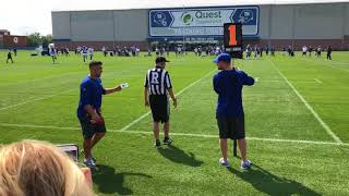 Giants training camp highlights | Day 1 in pads