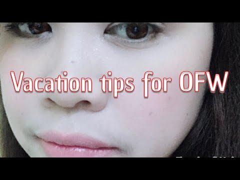 Vacation tips for OFW sa Kuwait 🇰🇼
