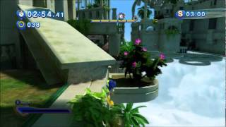 Sonic Generations Glitch Sonic  Air Glue