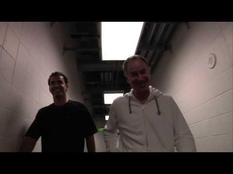 McEnroe and Sampras play