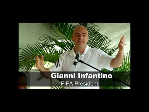 Press Conference - FIFA President Gianni Infantino in T&T