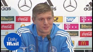 Toni Kroos: We wanted to play Spain in the World Cup - Daily Mail