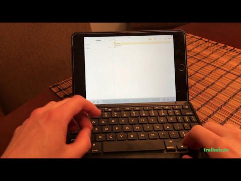 Zagg Folio Keyboard Case for iPad Mini 4 Review