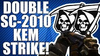COD Ghosts: Double SC-2010 KEM Strike! 2 KEM Strikes in 1 Game (KEM Strike Saturday)