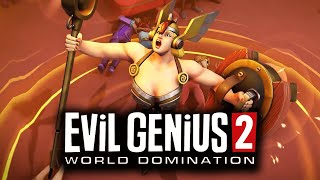 Evil Genius 2 - Recruiting DOOMHILDA Rise of the Valkyrie DLC // Full Side Story