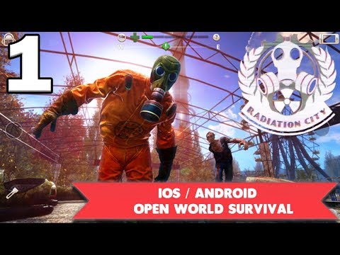 RADIATION CITY GAMEPLAY - IOS / Android - OPENWORLD SURVIVAL