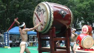 2011年7月18日、日本太鼓協会主催 『がんばろう!陸前高田 太鼓フェステ...